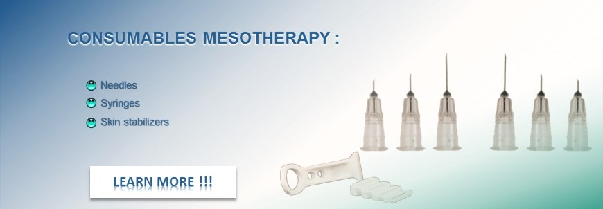 Needle mesotherapy and consumables